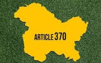 1ST ANNIVERSARY OF ABROGATION OF ARTICLE 370 AND 35A- BY REHAN BHASIN